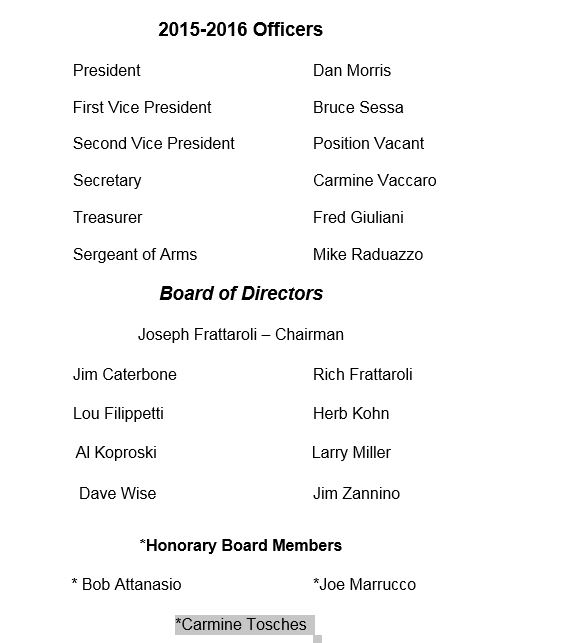 2015-2016 Bd of Directors for Website 6-28-16